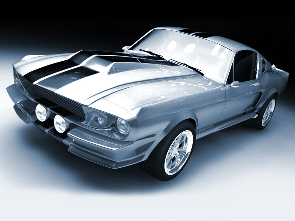 Ford Mustang Gt500 Shelby 1967