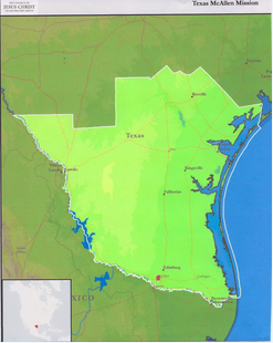Texas McAllen Mission Boundaries