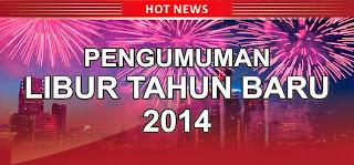 Pengumuman VSI Libur Tahun Baru 2013
