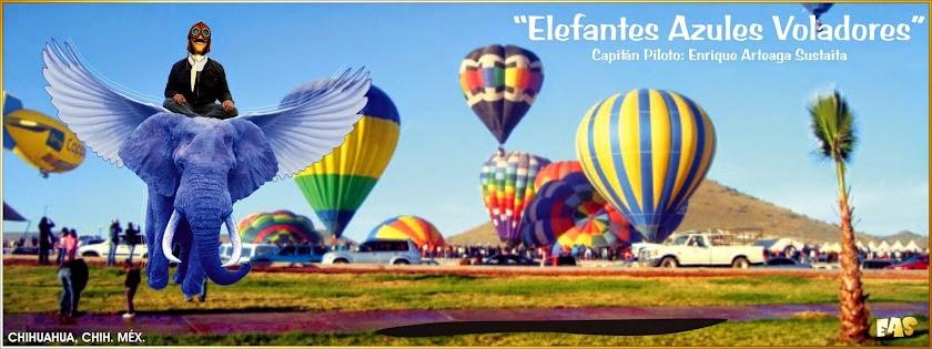 Elefantes Azules Voladores