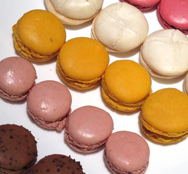 Macarons Dalloyau, Hugo & Victor, La Maison du Chocolat, Pariès