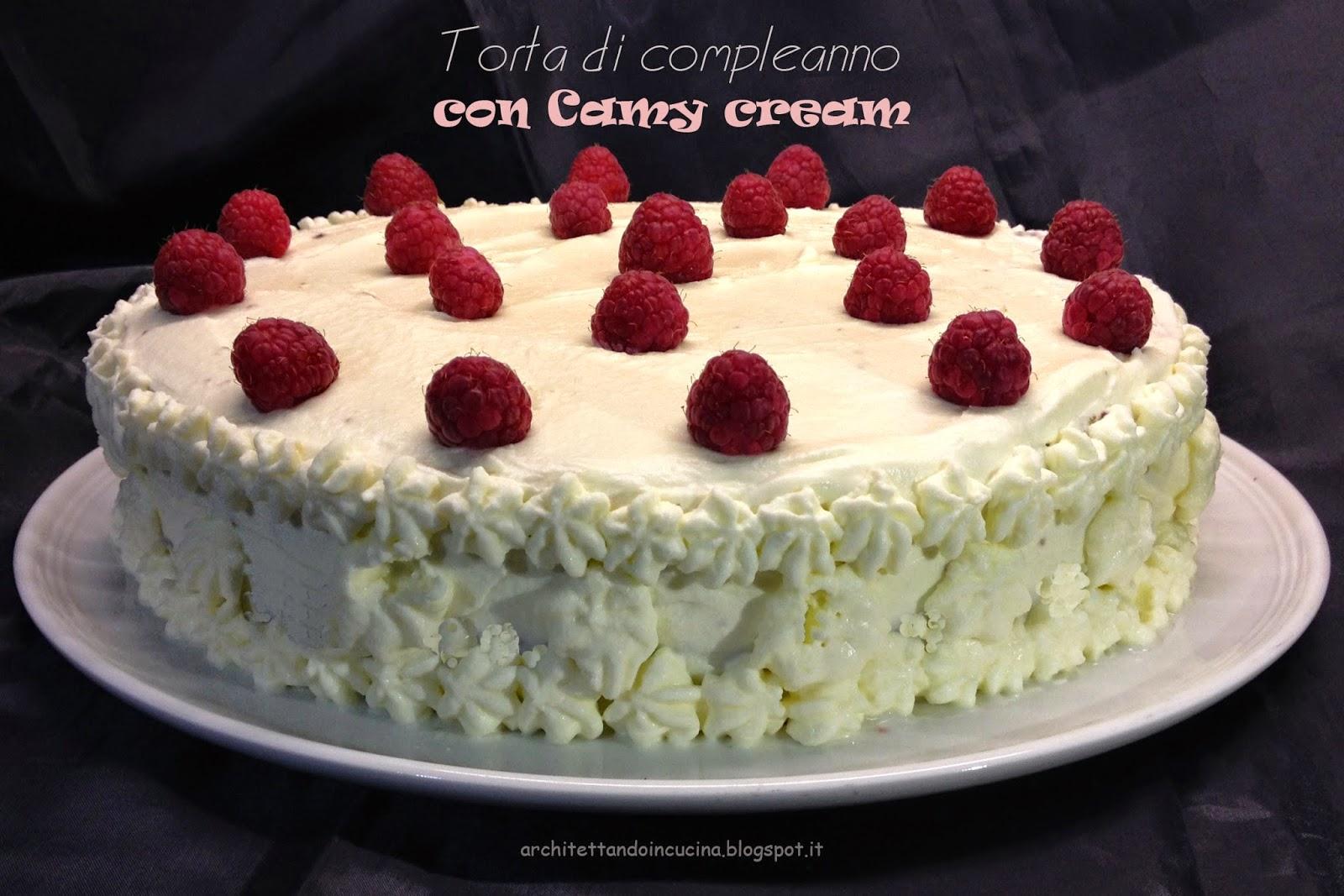 La ricetta della torta di compleanno