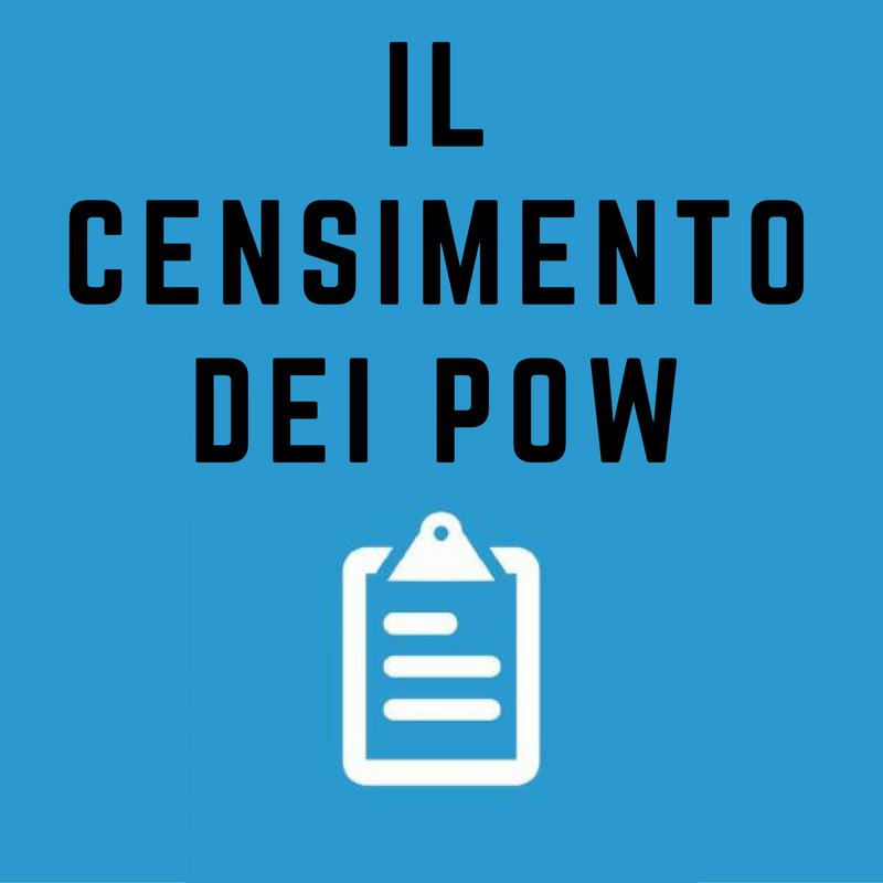 Il censimento dei Pow