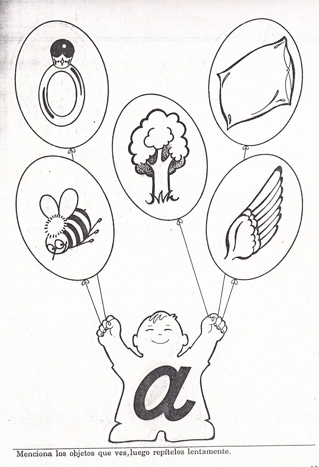Palabras con la vocal A | Para niños