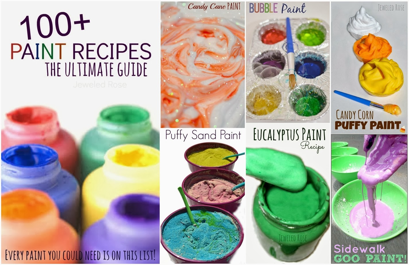 Diy homemade paint recipes diy craft projects for Diy paint