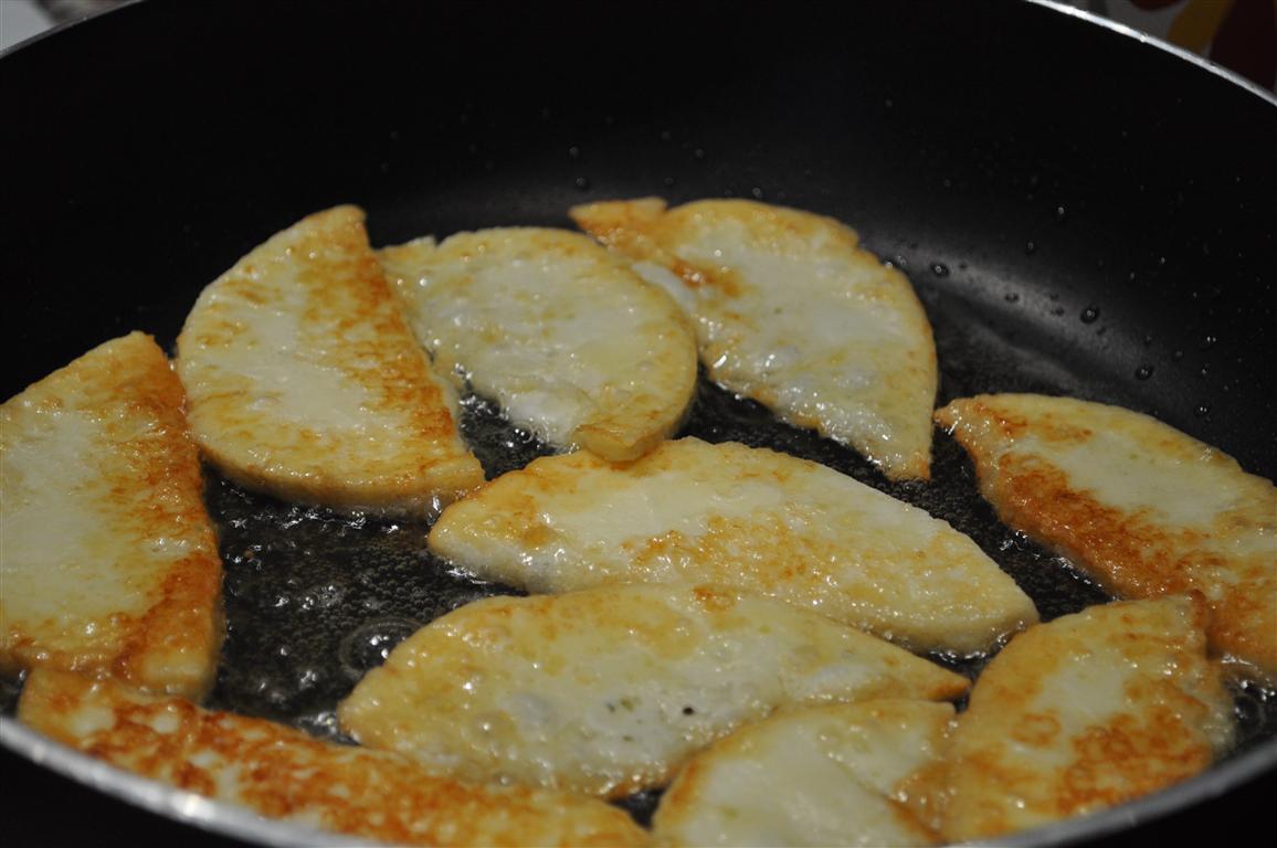 Keçi Peyniri Kızartması (Keçi Peyniri Pane)