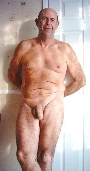 Older Gay Uncut Penis Handsome Naked Men Silvermature