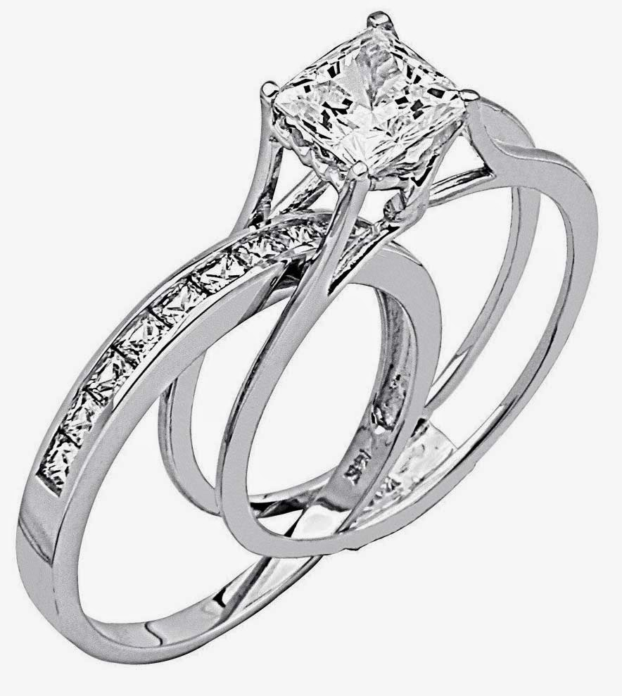 White Gold Diamond Engagement Ring for Her Settings design pictures hd