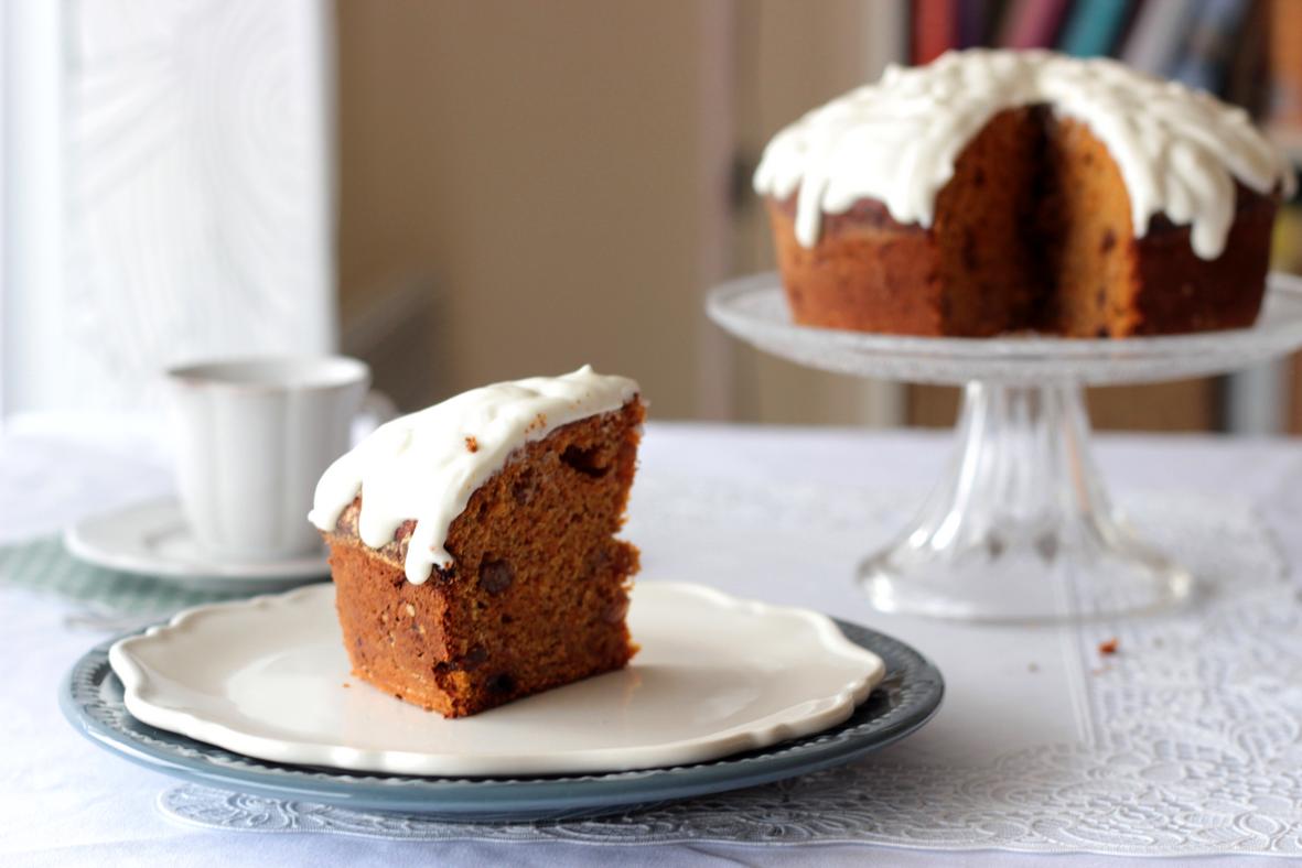 carrot cake farine châtaigne