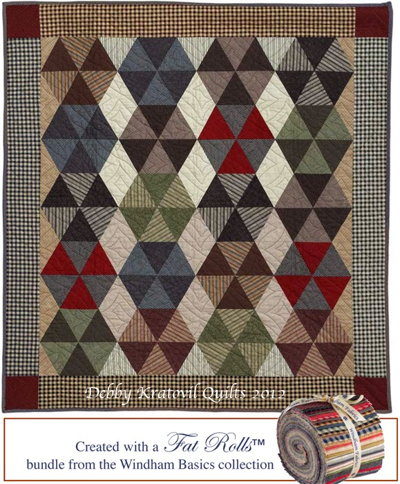 Free Quilt Pattern For Hexagon : Debby Kratovil Quilts: 18 Free Quilt Patterns from Martingale/That Patchwork Place