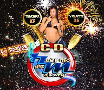 CD RESUMO DO MELODY VOL.25 / 2015 LANÇAMENTO  15/05/2015