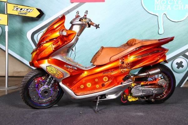 Modifikasi Honda Spacy Keren
