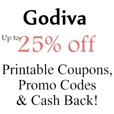 Godiva Promo Code January 2016, February 2016