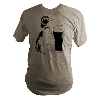 beer penguin tshirt st patricks day
