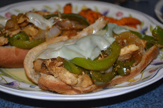 Philly Chicken Sandwiches