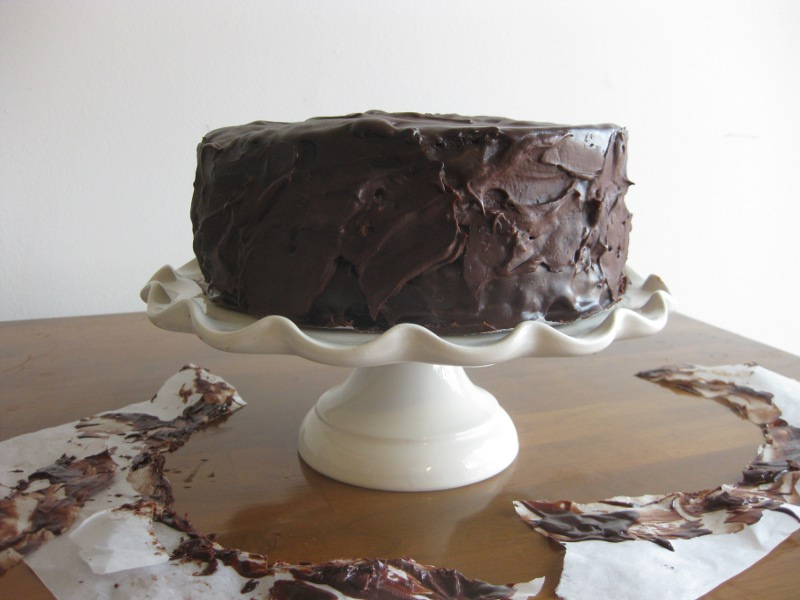 She Manufactures: Double Coconut German Chocolate Cake