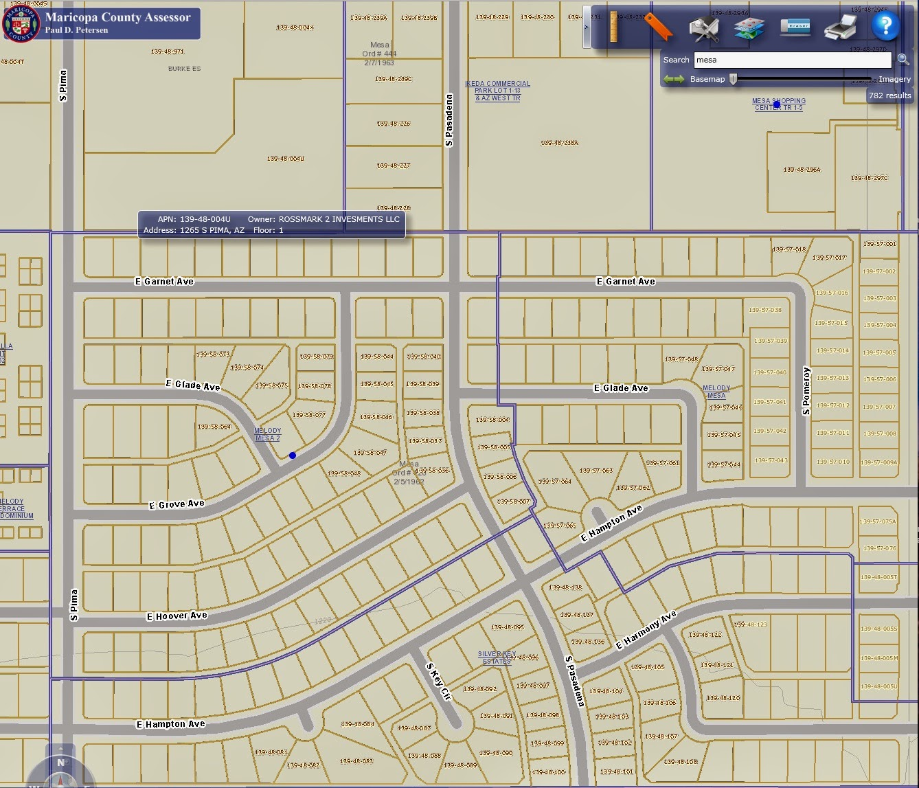 Parcel Search - Pinal County