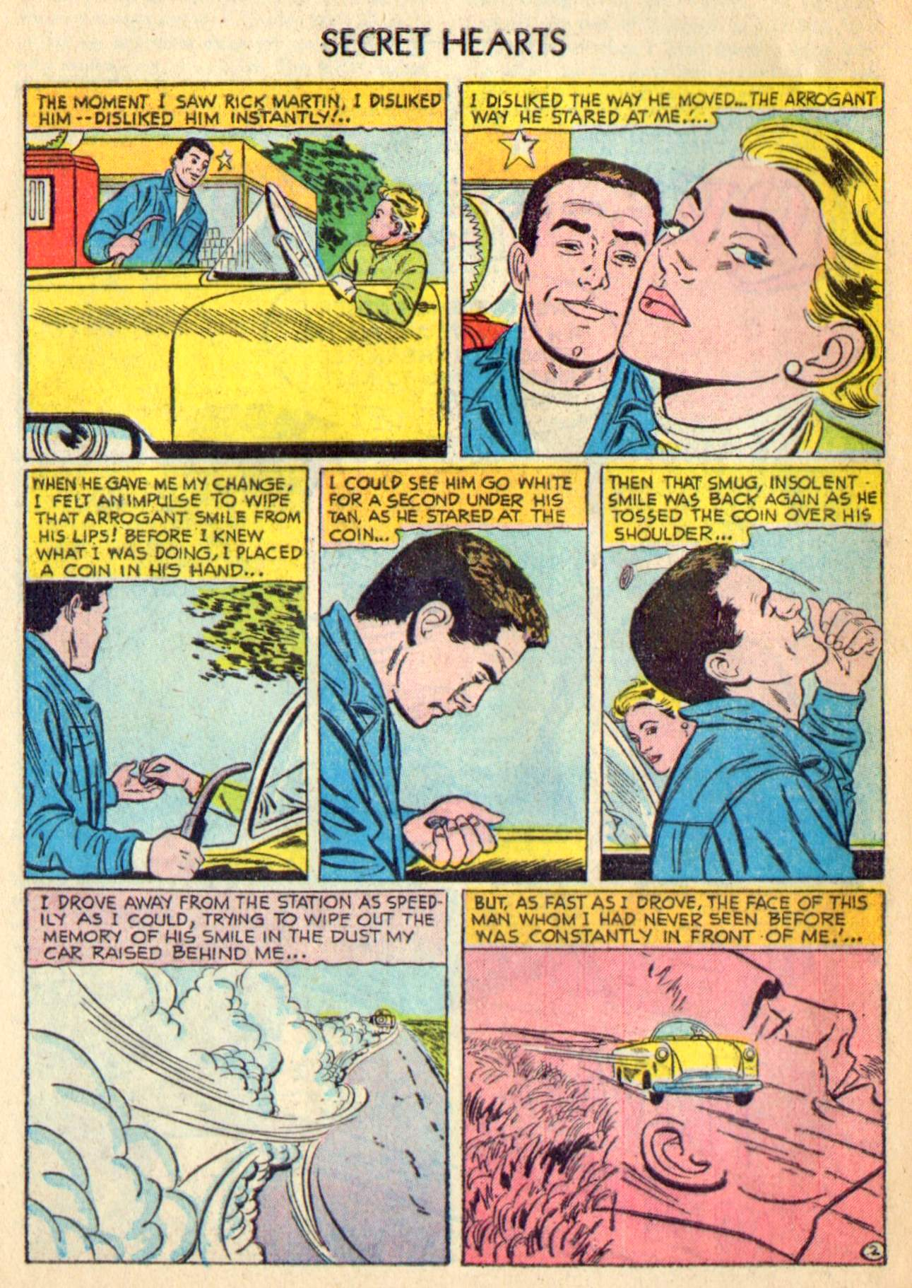 Read online Secret Hearts comic -  Issue #31 - 28
