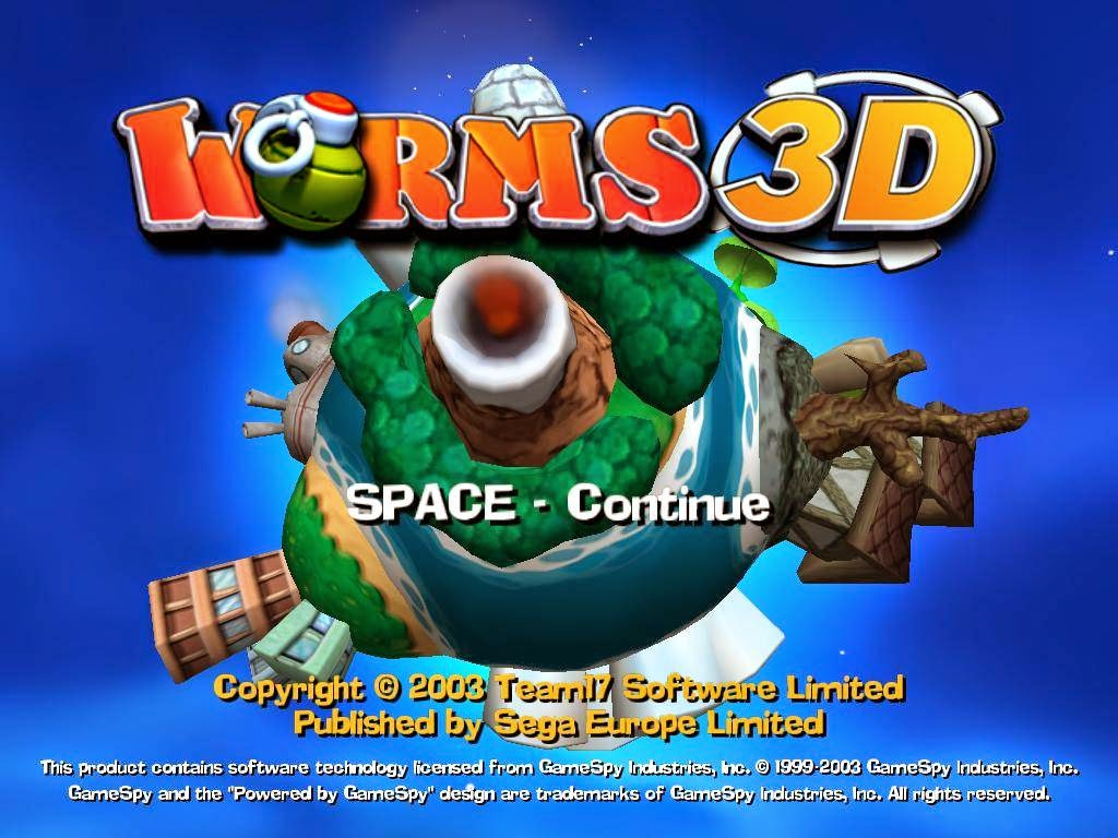 Worms 3D For PC