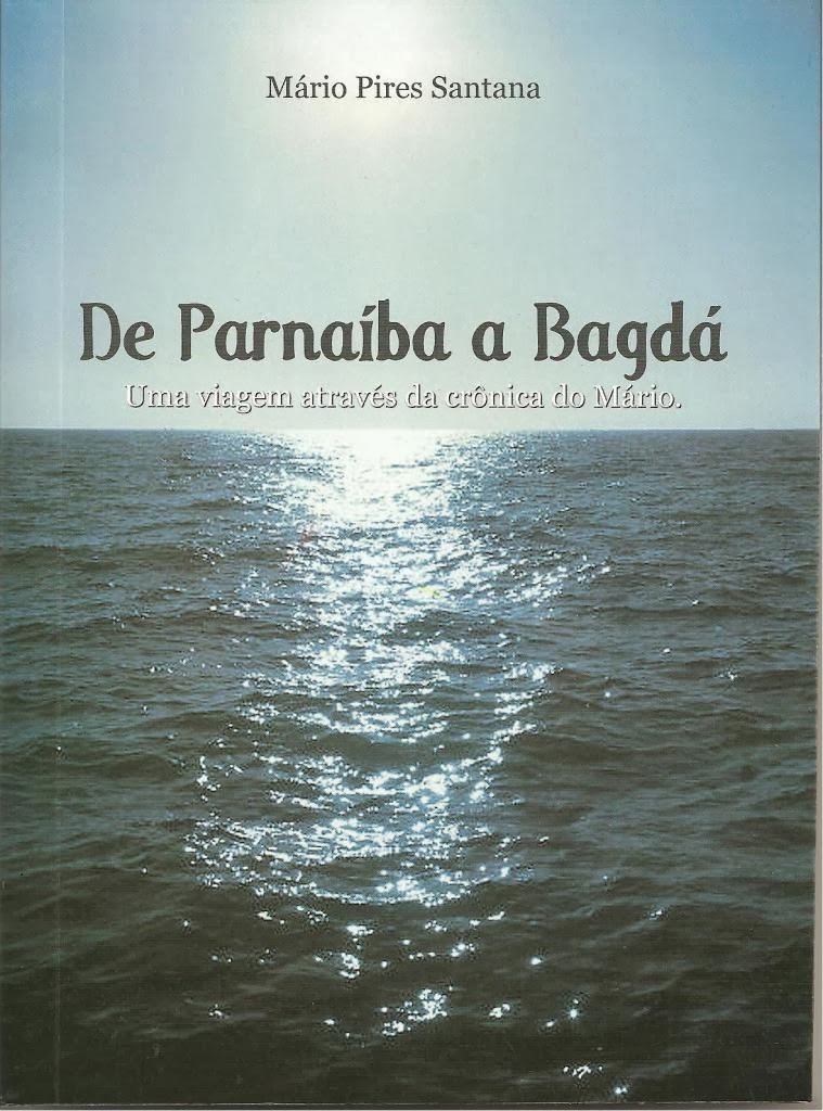 Capa do livro de Parnaíba a Bagdá