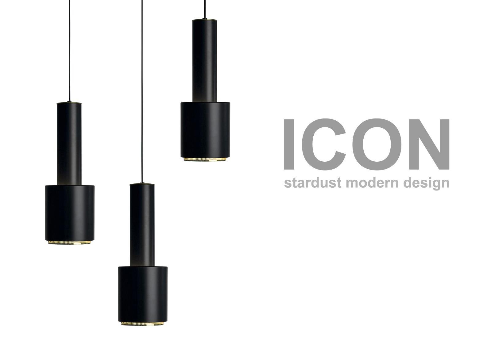 aalto a 110 black pendant by artek artek lighting