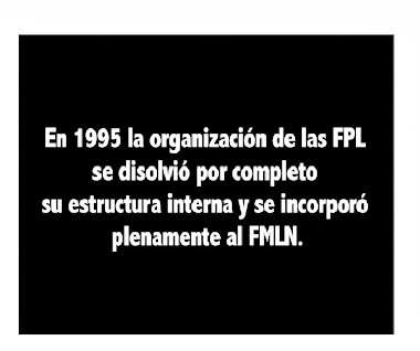 Exfpl Corriente Burguesa Traiciono a las FPLFM GPP-GPL LINEA PROLETARIA SOCIALISTA