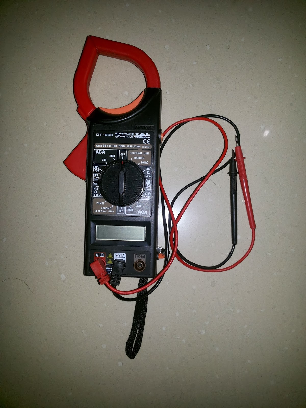 Clamp meter 266c инструкция