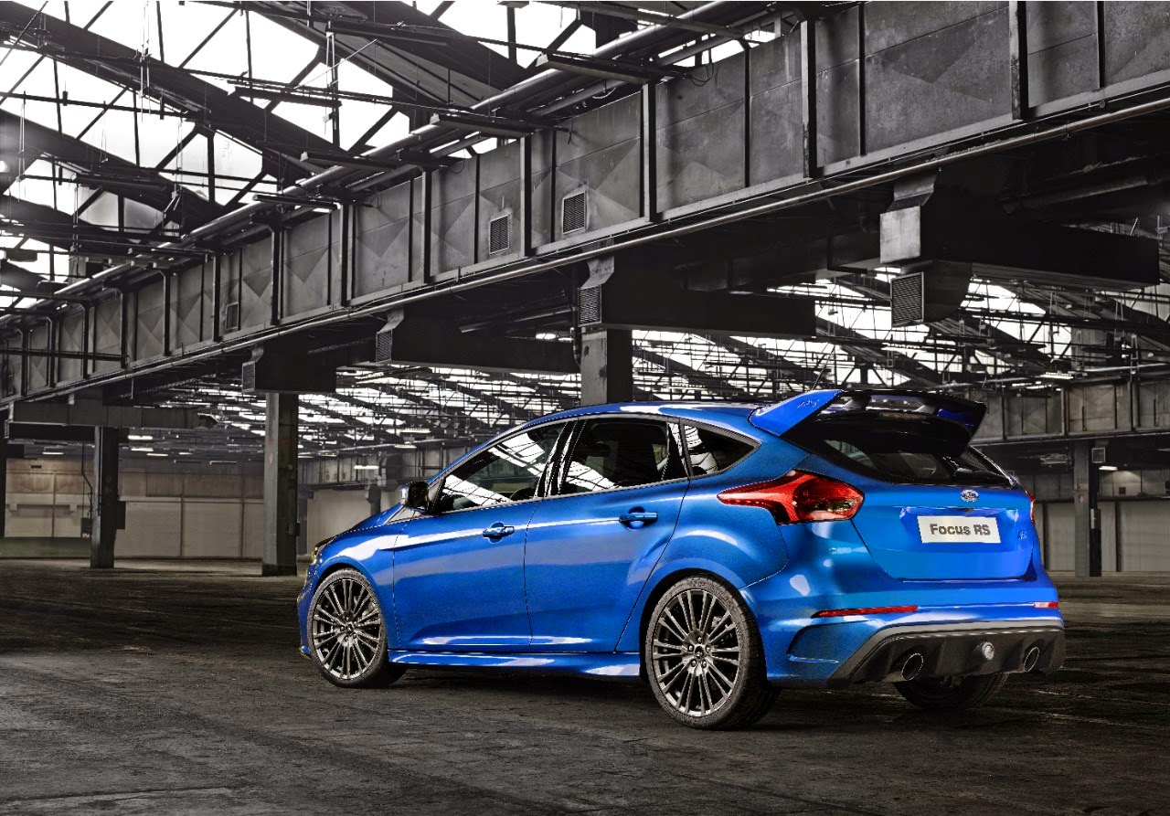 New Ford Focus RS rear