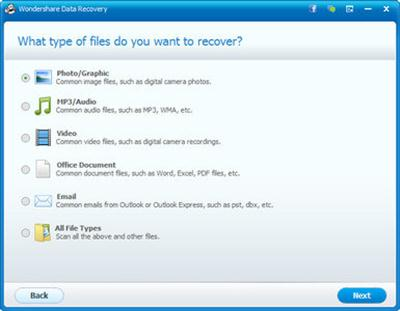 Wondershare Data Recovery 5.0.0.5 Multilingual Portable Download