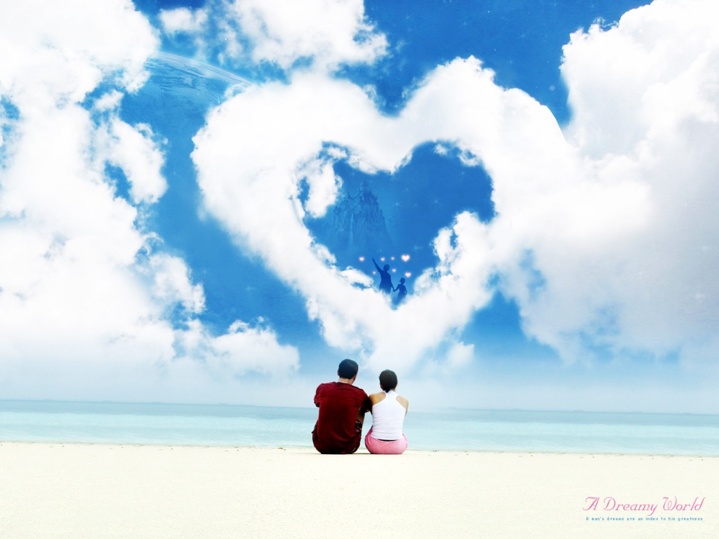 New Hd Wallpapers Images Beautiful Love Dreamy World Wallpaper