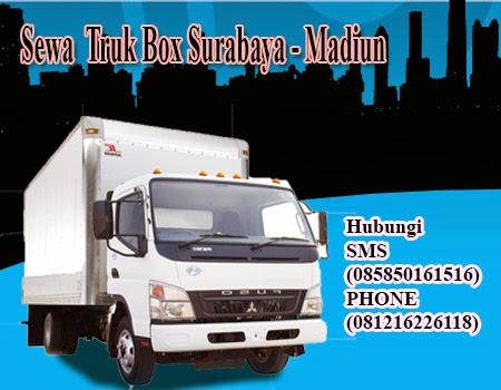 Sewa Truk Box Surabaya - Madiun