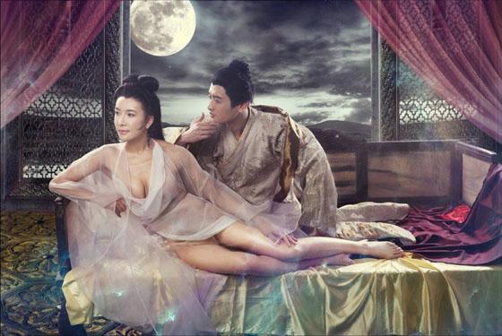 02 Người đẹp phim sex 3D Tân Kim Bình Mai tung ảnh nóng lộ ngực