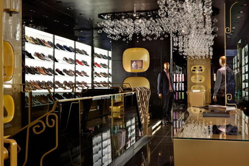 Billionaire the Italian Fashion Stores Design