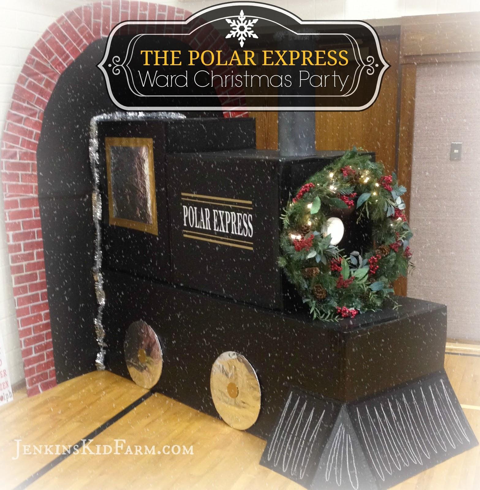 Ward Christmas Party Ideas Part - 25: Polar Express Ward Christmas Party