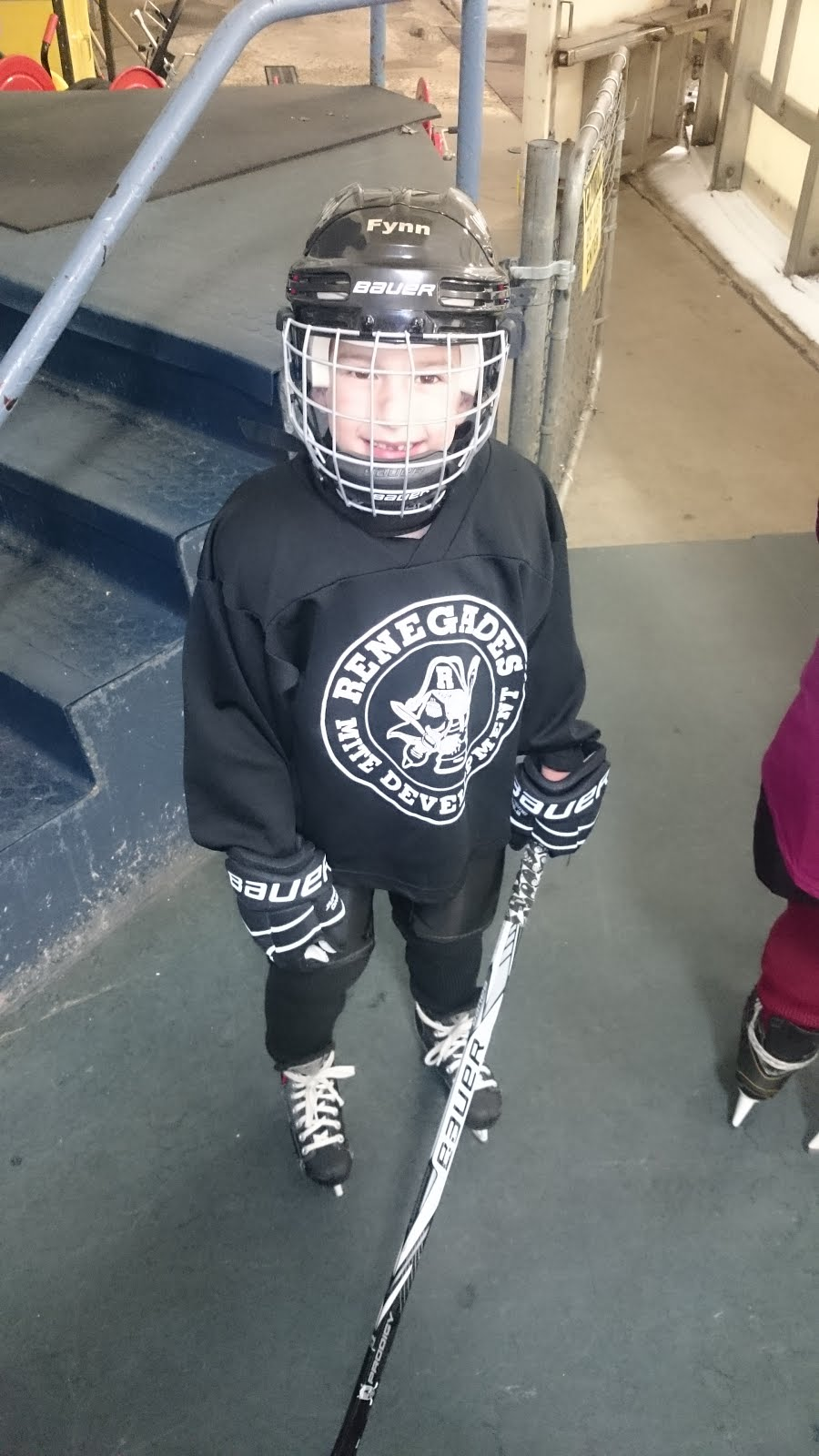 Fynn Plays Hockey