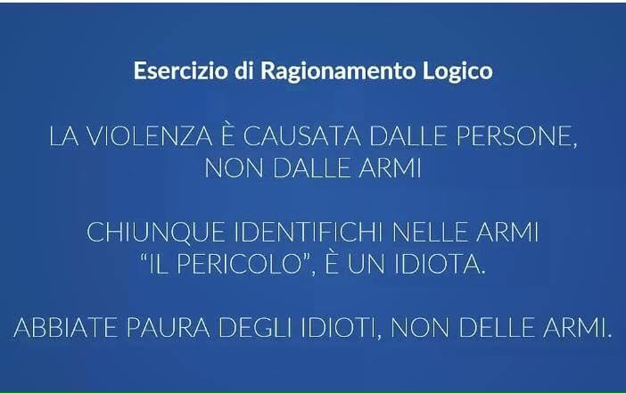 Il Ragionamento Logico ed imparziale.