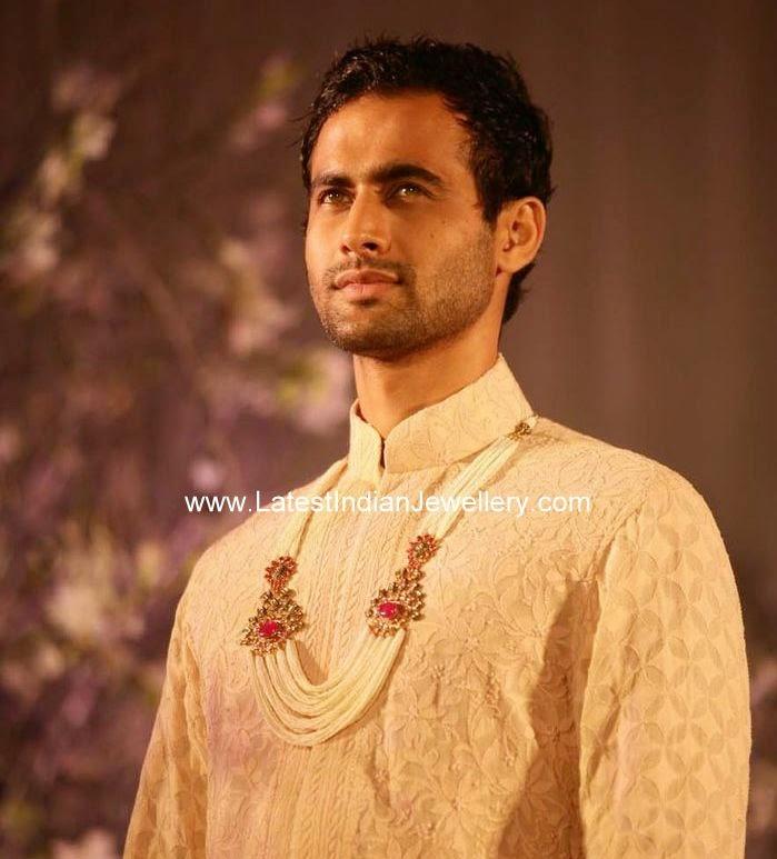 Indian Groom Pearl Jewellery