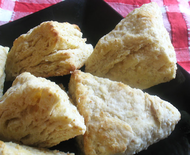 lemon buttermilk scones