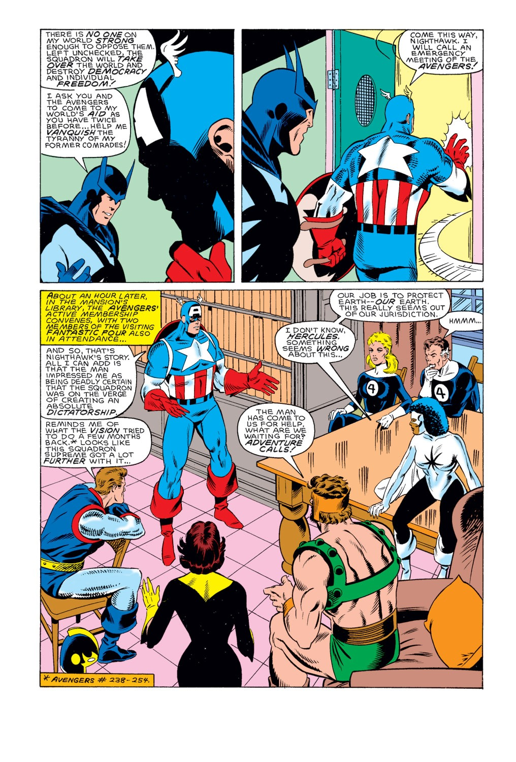 Captain America (1968) Issue #314 #242 - English 8