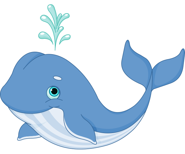 Happy Whale Icon