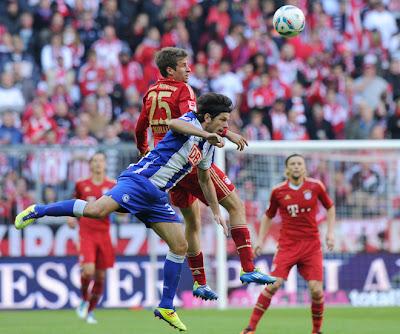 Bayern Munich 4 - 0 Hertha BSC (1)