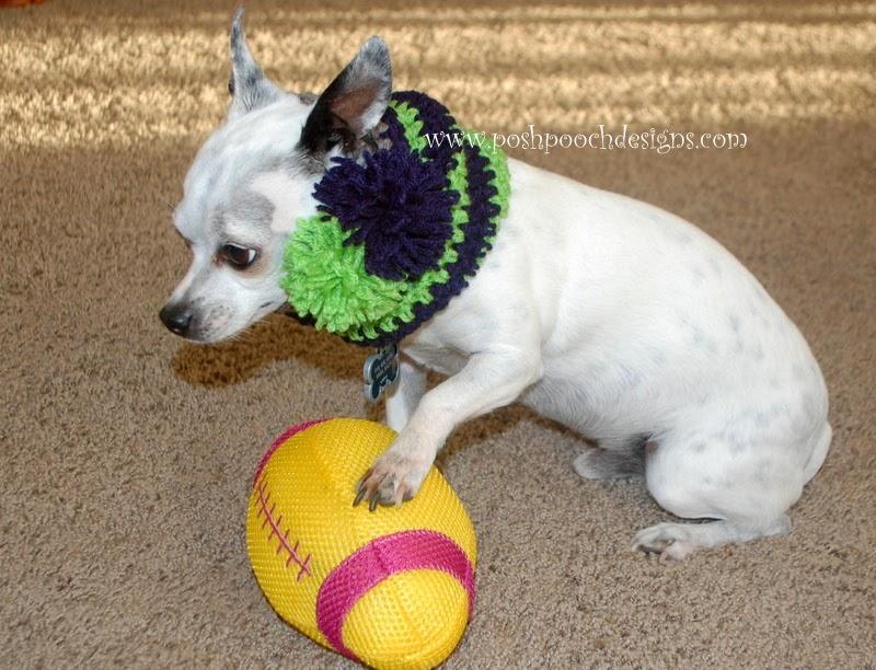 Posh Pooch Designs Dog Clothes: Sports Team Dog Snood Free ...