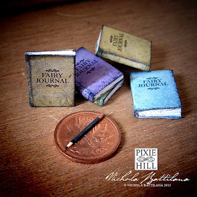 Miniature Fairy Journal - Nichola Battilana