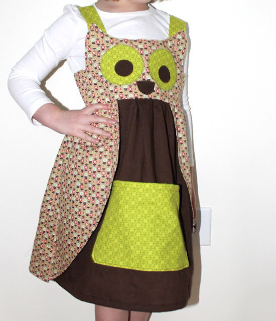 owl jumper sewing pattern