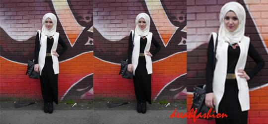 Street Style Modern Hijab Gaya Jilbab Modern