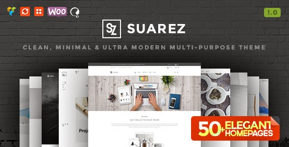 Suarez - Clean, Minimal & Modern Multi-Purpose Theme