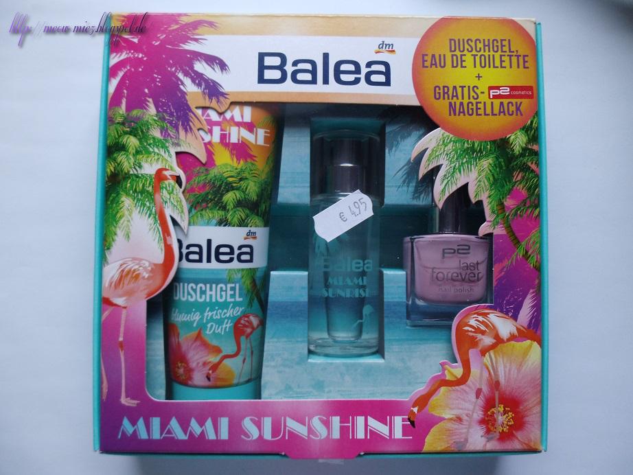 balea miami sunshine geschenkset the kitty litter. Black Bedroom Furniture Sets. Home Design Ideas