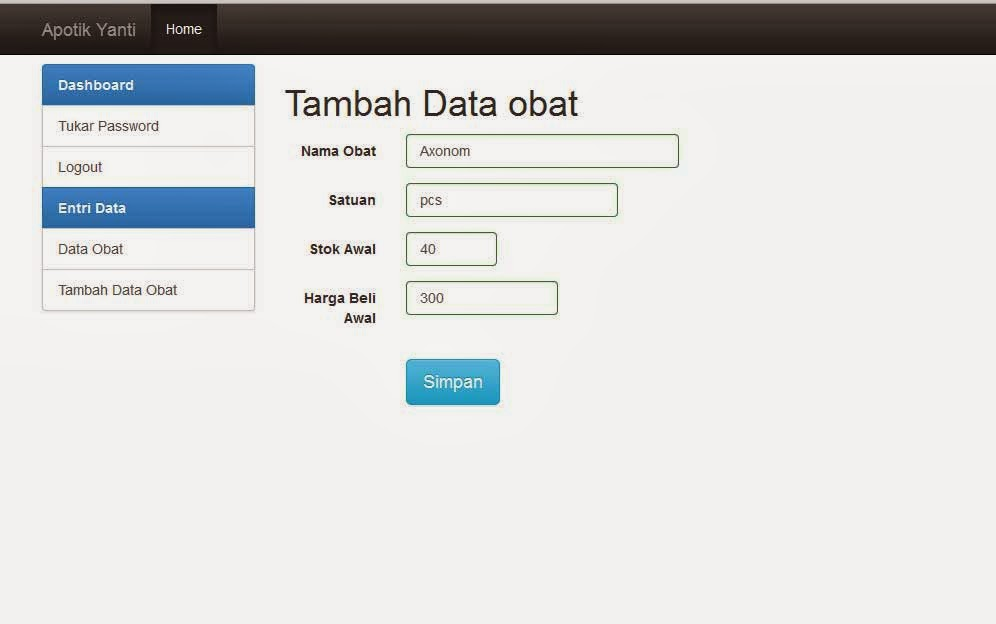 dengan codeigniter aplikasi apotik dengan codeigniter install xampp di ...