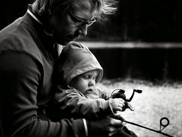 Baby Fishing Dad