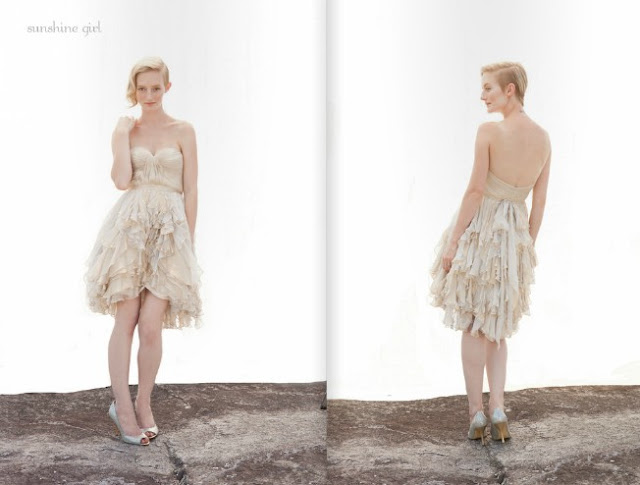 2013 short Wedding Dresses From Ivy And Aster